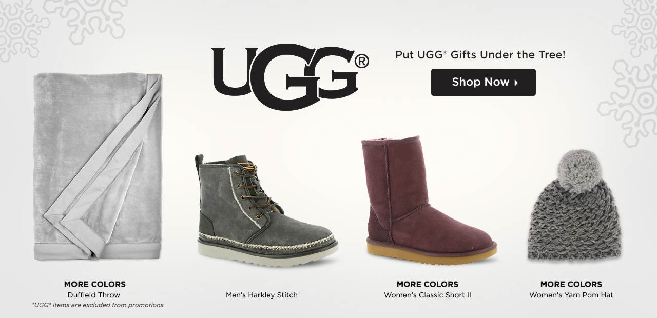 Put UGG® Gifts Under the Tree! Shop Now