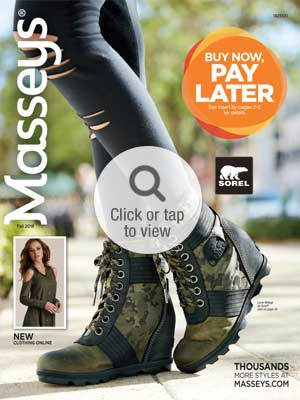 Browse the Fall Footwear Online Catalog