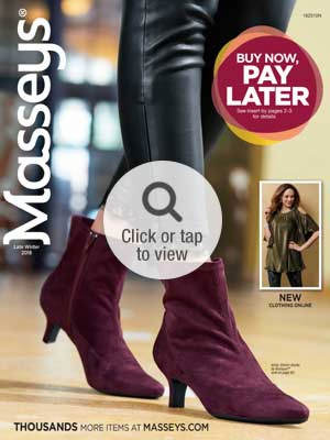 Browse the Late Winter Footwear Online Catalog