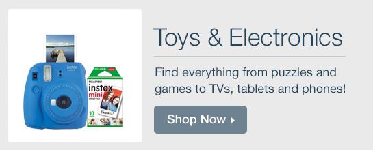 Shop Toys & Electronics