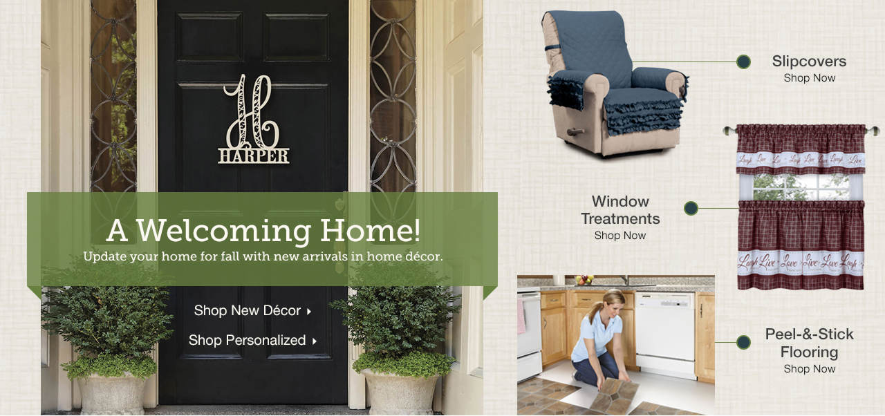 Update your home for fall with new arrivals in home decor