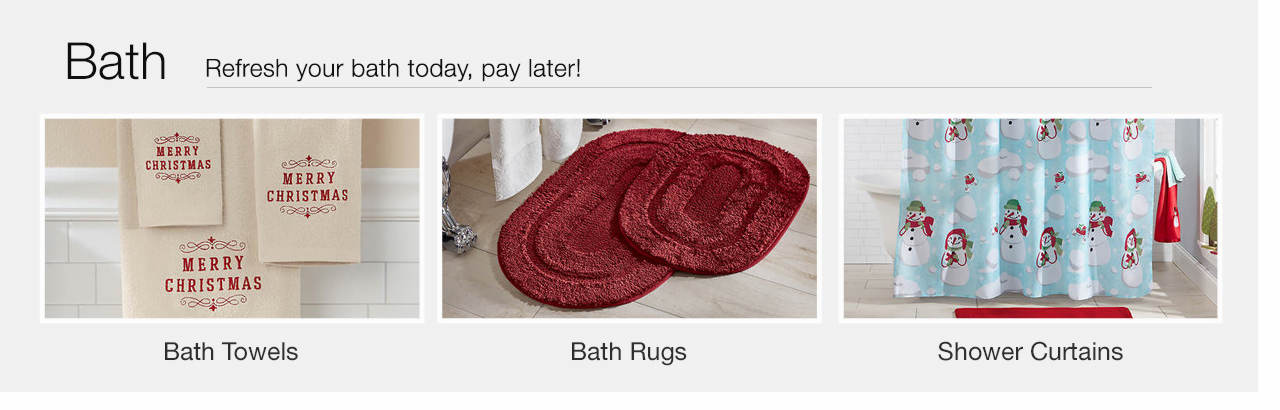 Refresh your bath today - Pay Later.