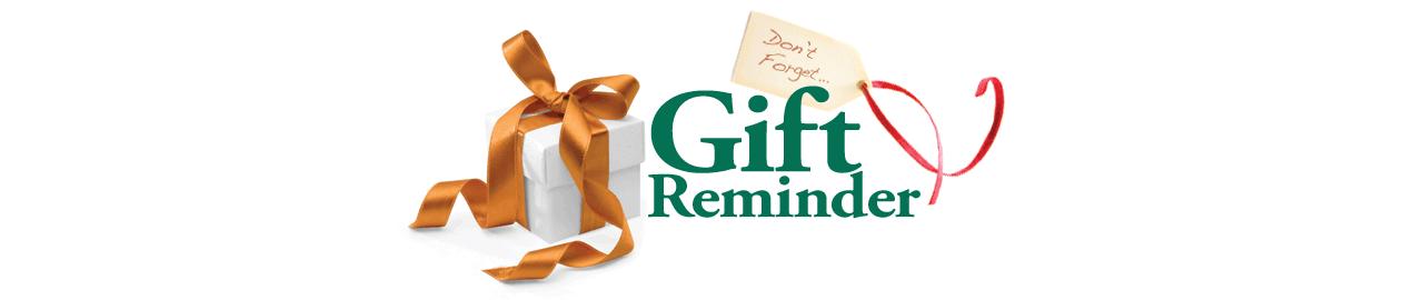 Figi's Gift Reminder
