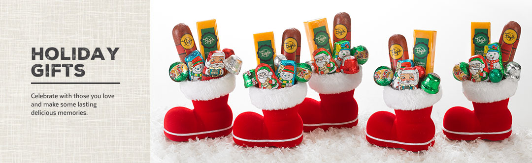 holiday gift baskets food gifts from figis figis gifts in good taste
