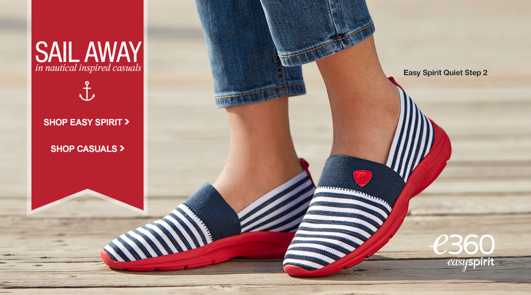 Sail Away in Nautical Inspired Casuals.