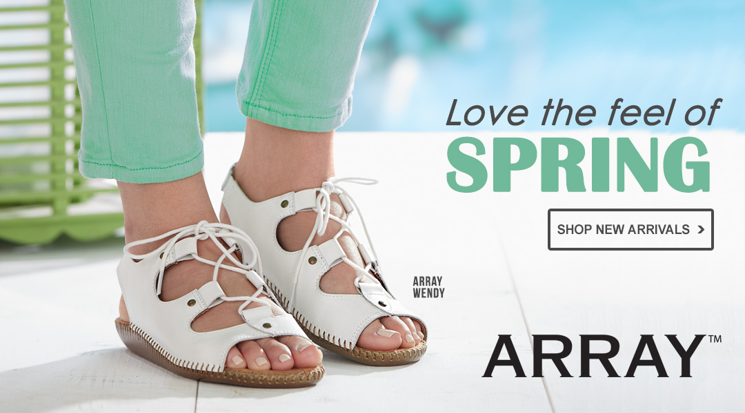 Love the Feel of Spring - Shop New Arrivals.