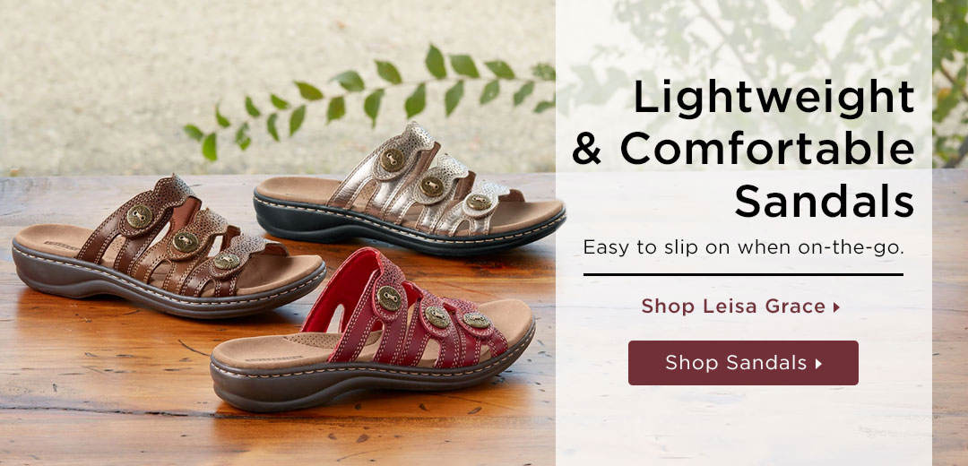 Lightweight & Comfortable Sandals - Shop Now