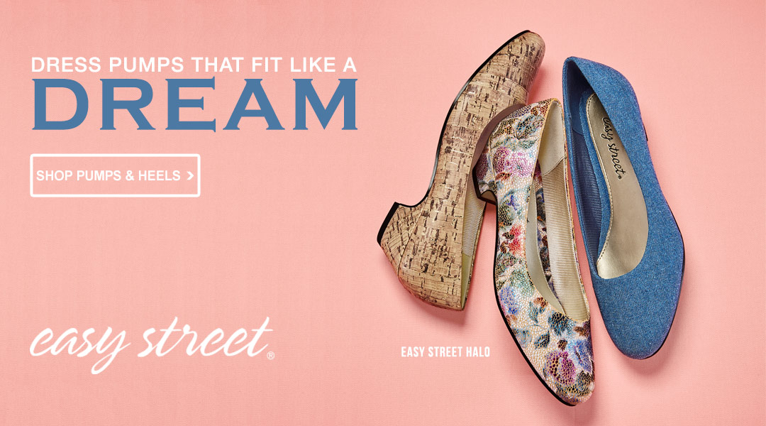 Pumps that fit like a dream - Shop Pumps & Heels.