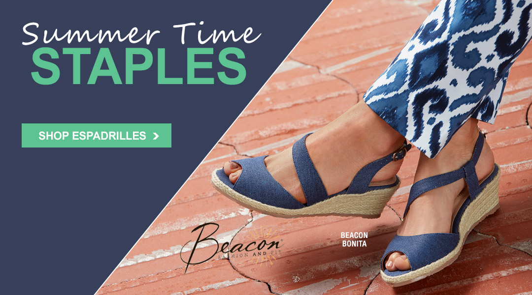 Summer Time Staples - Shop Espadrilles.