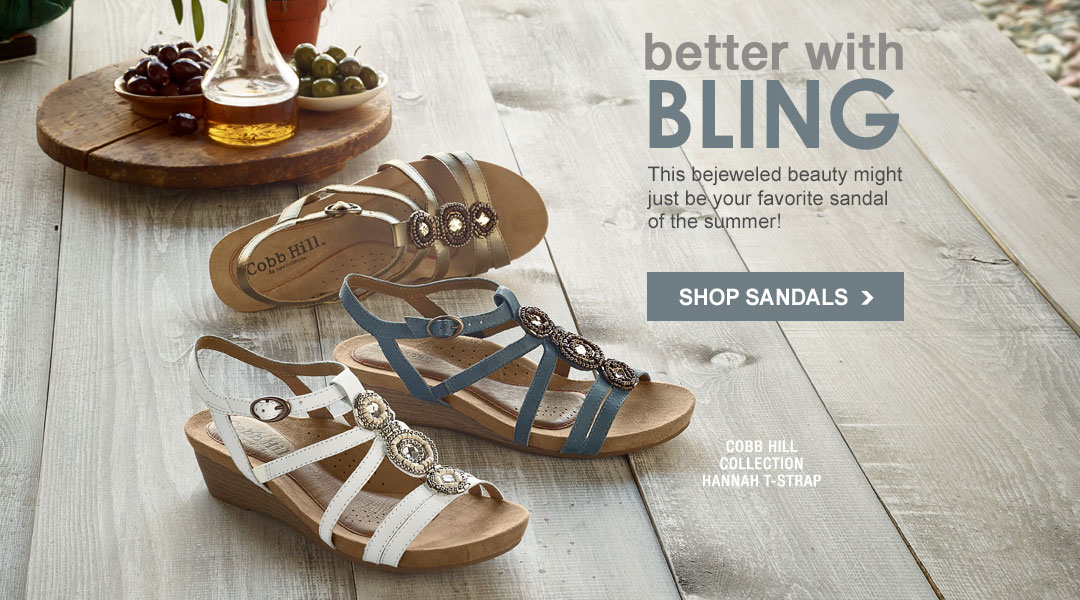 Better With Bling - Shop Sandals.