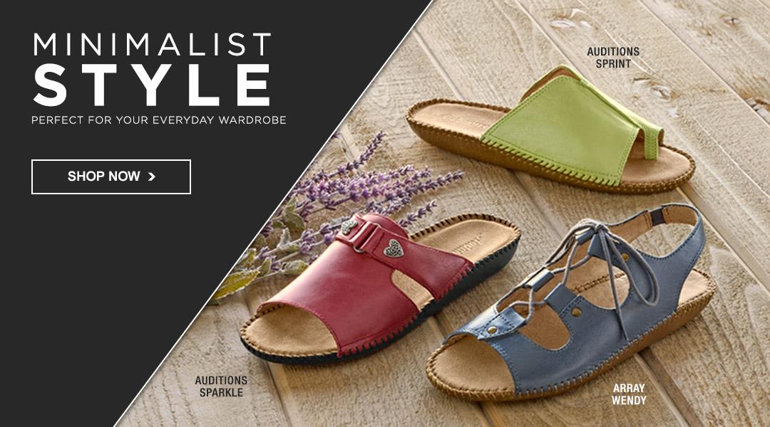 Minimalist Style - Shop All Sandals.
