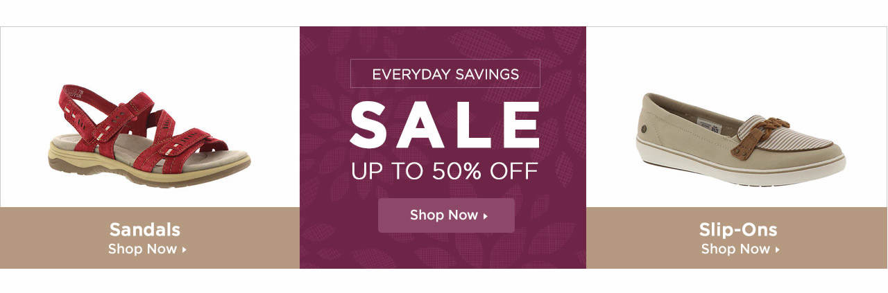 Shop Sandals, Slip-Ons and Shoes on Sale