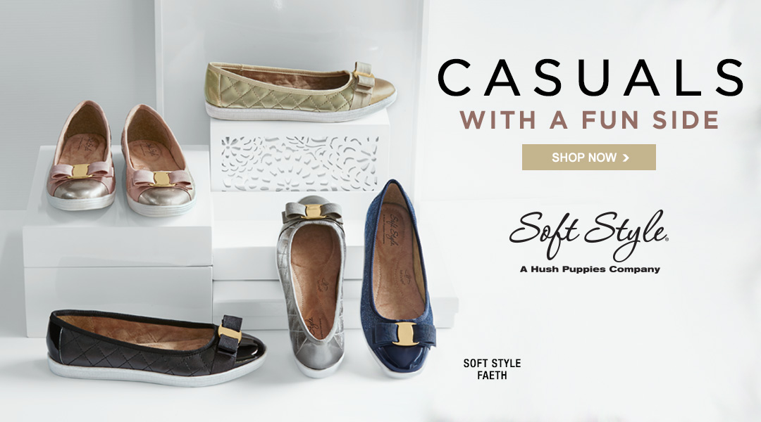 Casuals With a Fun Side - Shop Now.