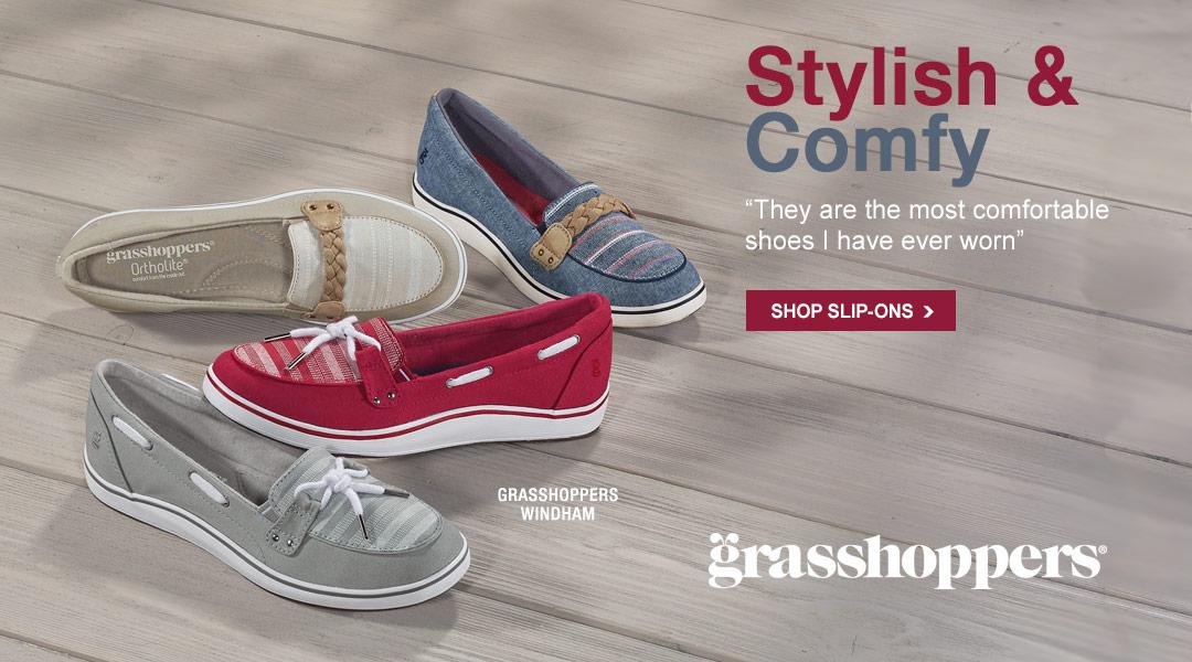 Stylish & Comfy - Shop Slip-ons.