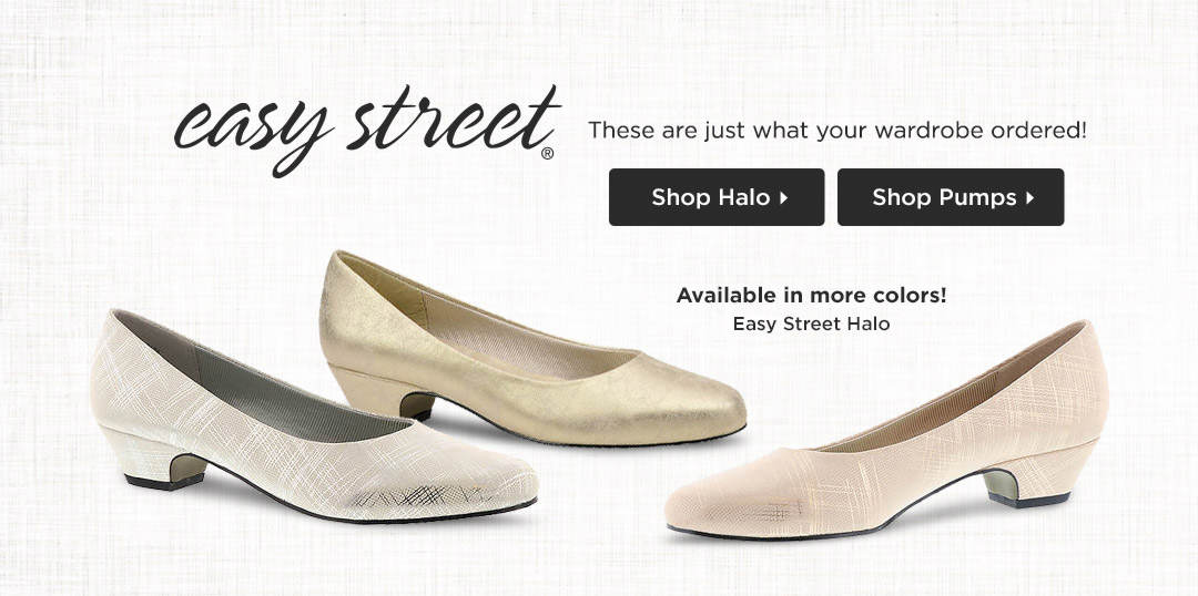 These pumps from Easy Street are just what your wardrobe ordered! Shop Now