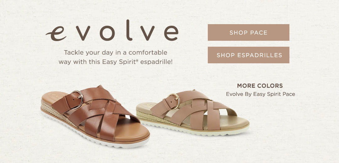 Tackle your day in a comfortable way with this Easy Spirit espadrille! Shop Now