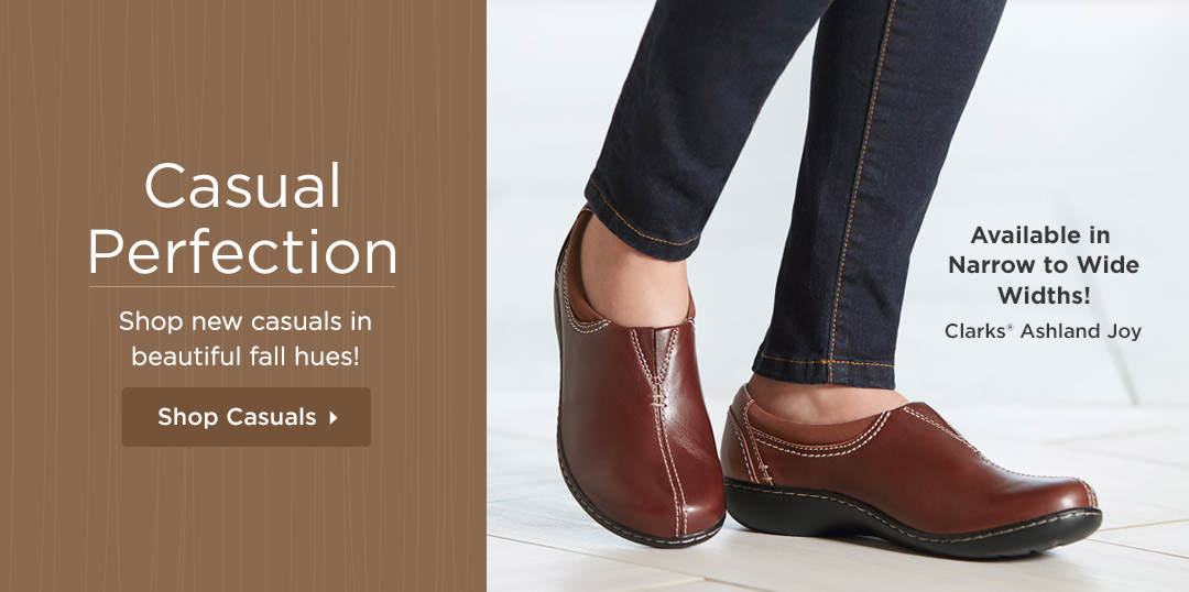 Casual Perfection - New casuals in beautiful fall hues! Shop Now