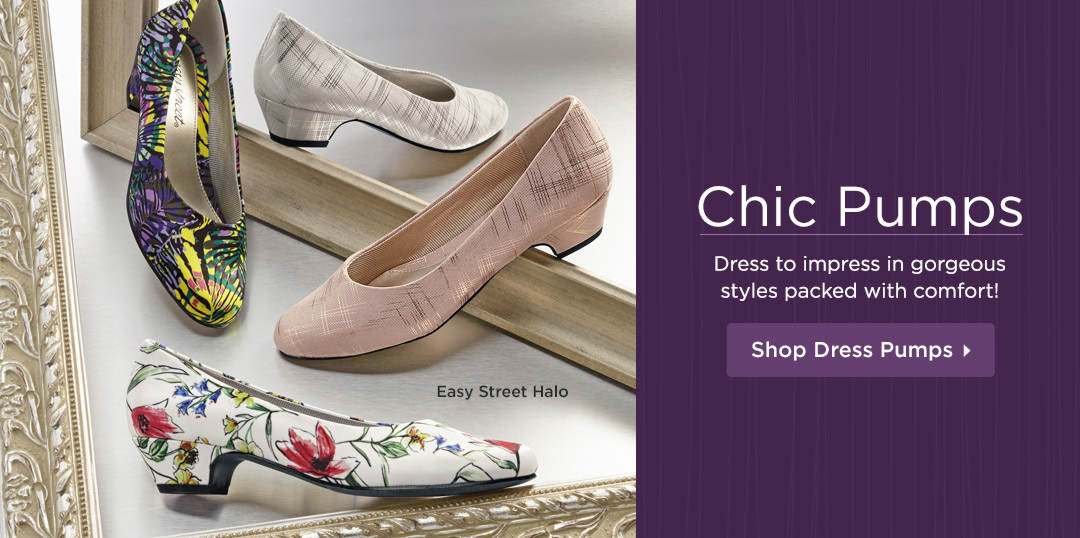 Dress to impress in gorgeous styles packed with comfort! Shop Dress Pumps