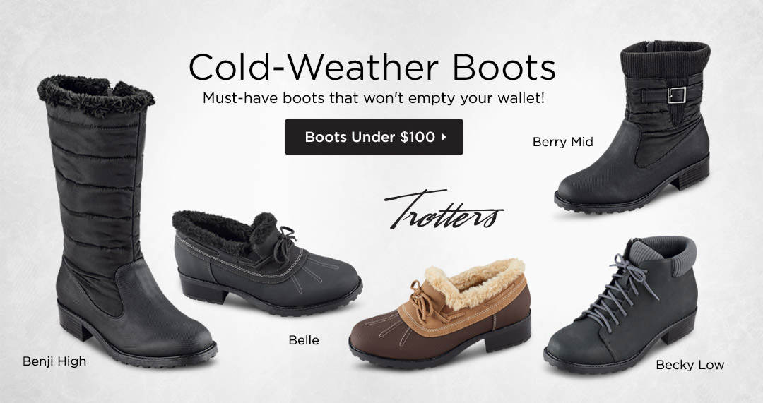 Cold-Weather Boots - Must-have boots that won't empty your wallet! Shop Boots Under $100