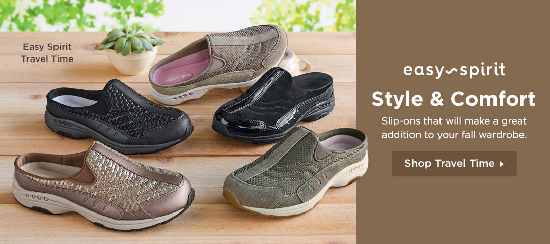 Style and Comfort - Shop slip-ons that will make a great addition to your fall wardrobe!
