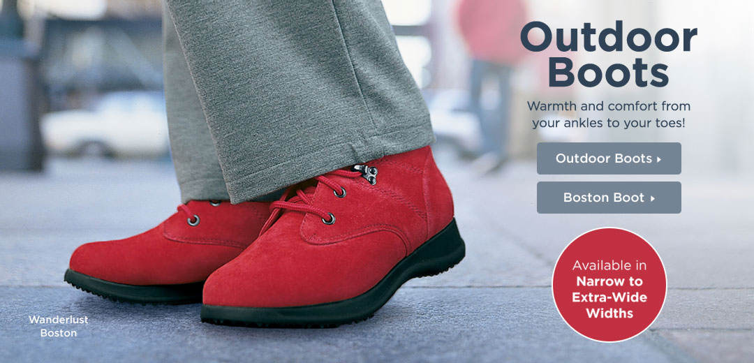 Outdoor Boots - Warmth and comfort from your ankles to your toes! Shop Now