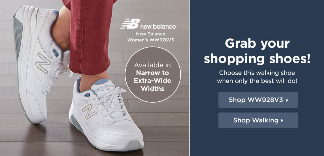 Grab your shopping shoes - Choose this walking shoe when only the best will do! Shop Now