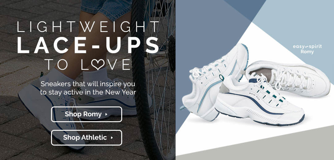 Lightweight Lace-Ups to Love - Sneakers that will inspire you to stay active in the New Year. Shop now