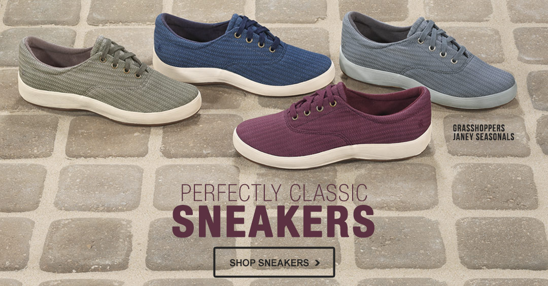 Perfectly Classic Sneakers - Shop Sneakers.