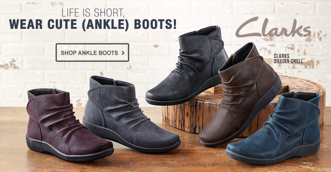 Life is Short, Wear Cute Ankle Boots - Shop Ankle Boots.