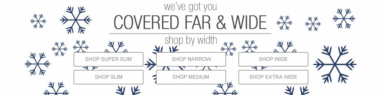 Holiday Extended Sizes - We've got you covered.