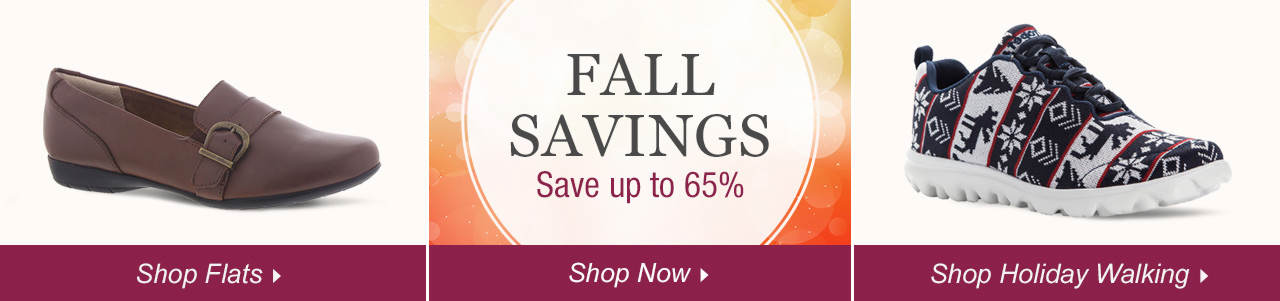 Shop Flats, Holiday Walking and explore savings of up to 65% on our sale tab!