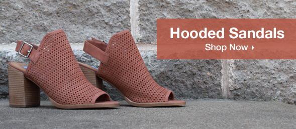 Shop Hooded Sandals