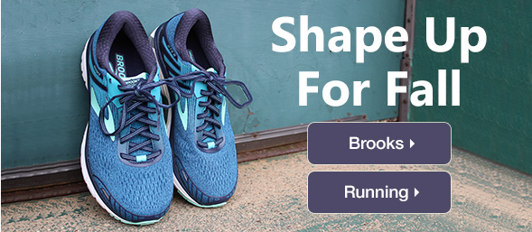 Shape Up For Fall With Brooks
