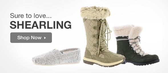 Shop Shearling Footwear