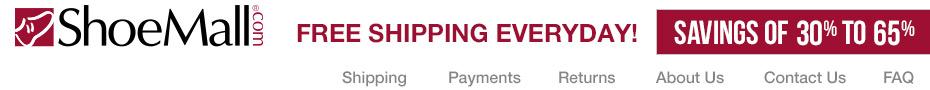 ShoeMall - Savings of 30-65% and Free Shipping