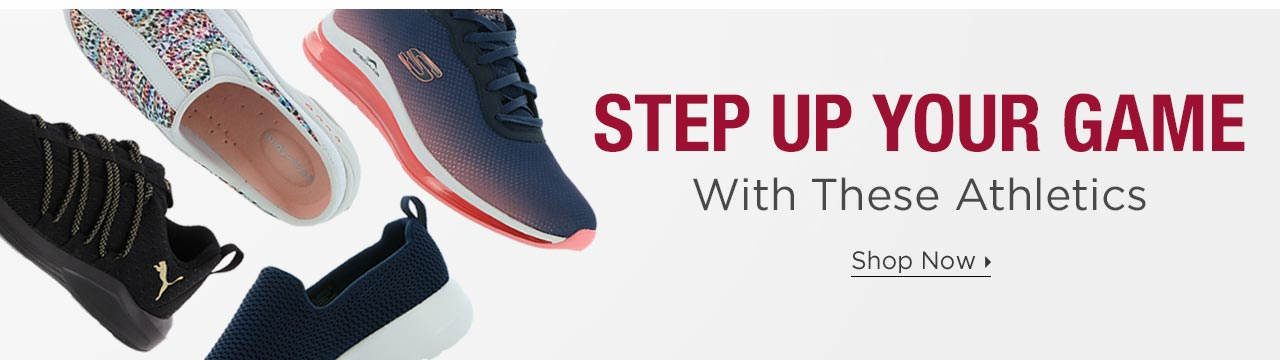 Step Up Your Game With Athletics
