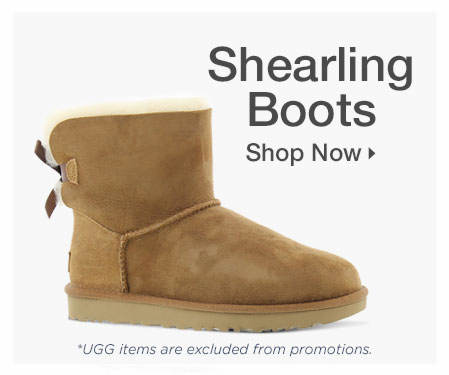 Shop Shearling Boots