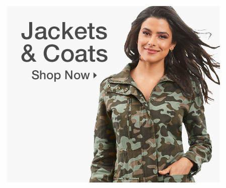 Shop Jackets + Coats