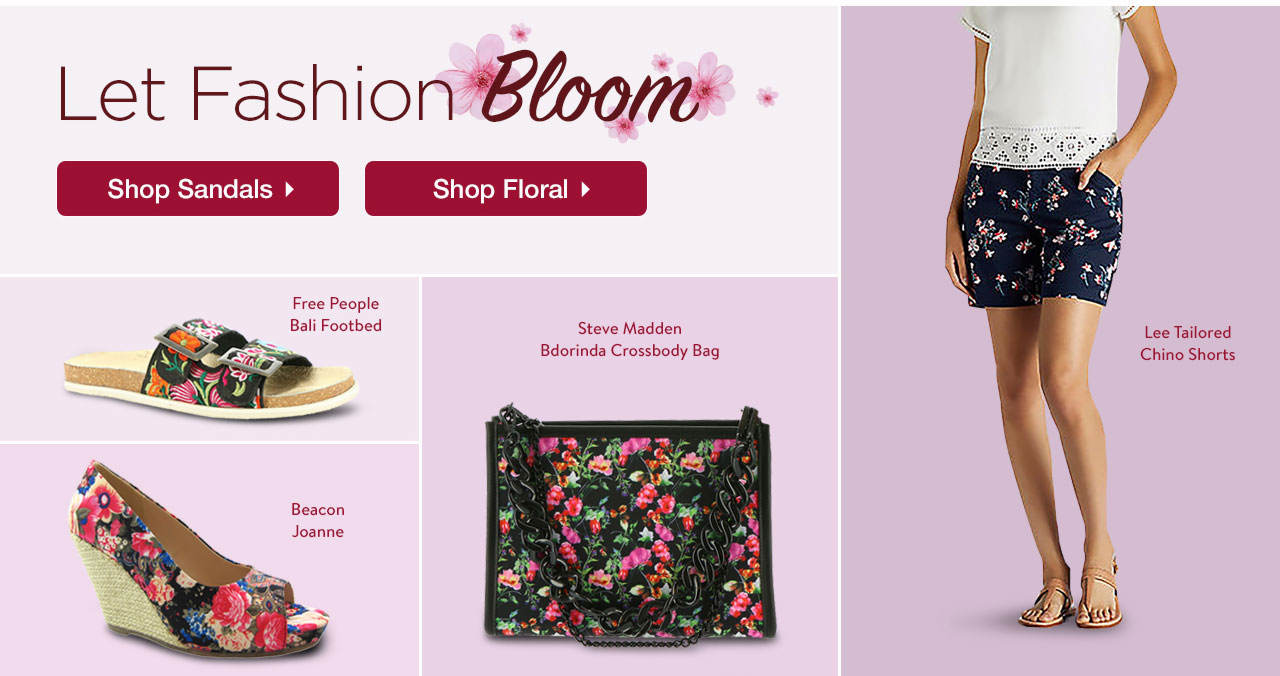Let Fashion Bloom