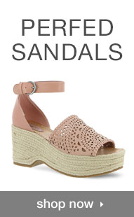 Shop Perforated Sandals