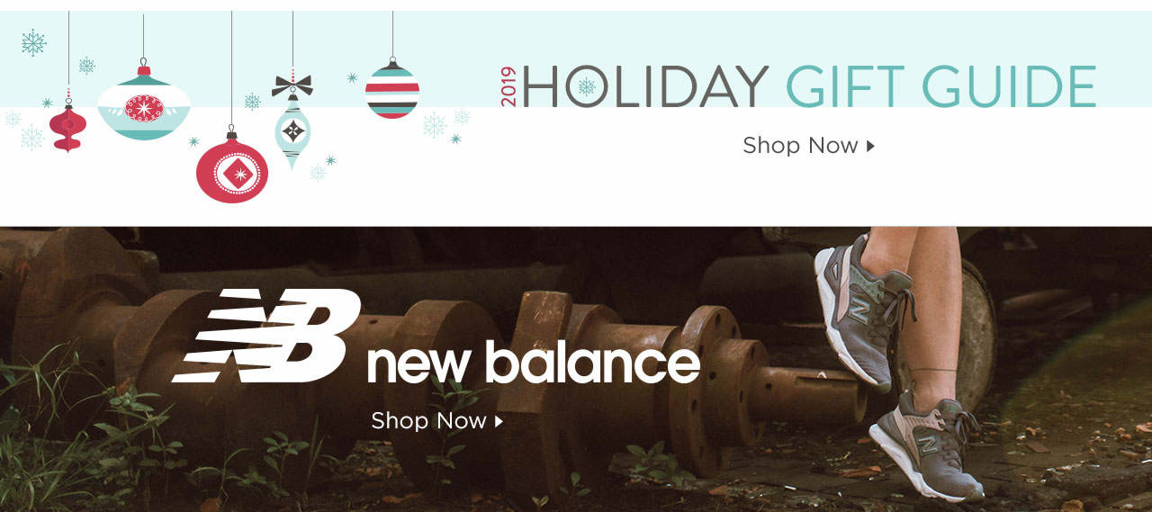 Holiday Gift Guide & New Balance