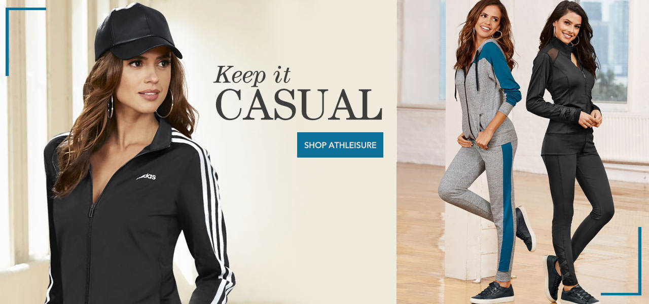 Keep it casual with athleisure styles. Shop now.