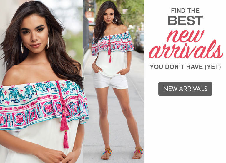 Find the best new arrivals you don't have... yet. Shop now.