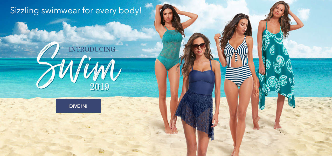 Introducing Swim 2019. Something for every body. Dive In.