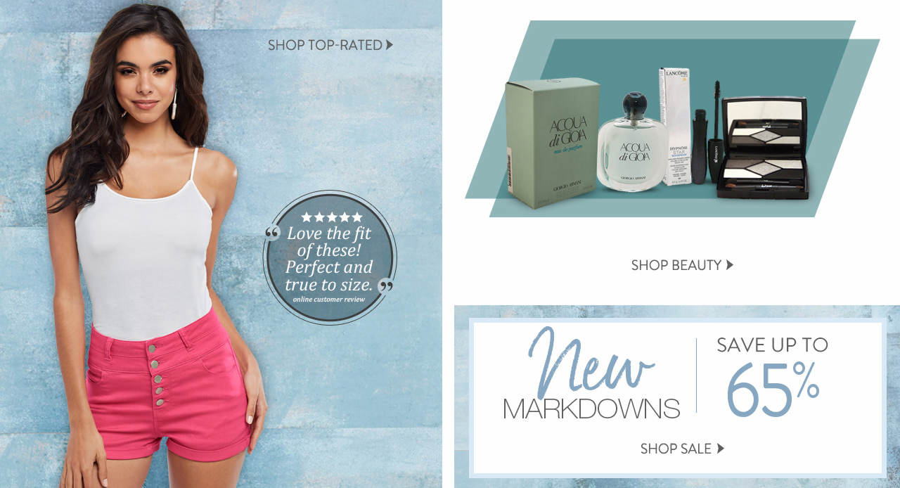 Shop top-rated, beauty items and new markdowns.