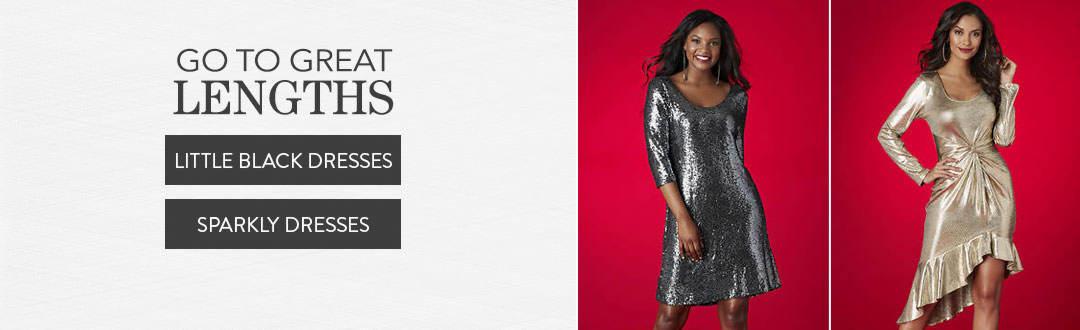 Go to great lengths in dresses from K. Jordan.