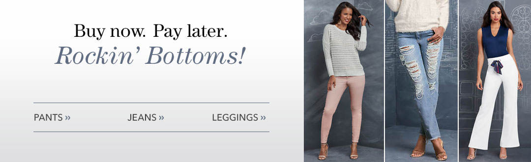 Great style starts at the bottom. Shop bottoms from K. Jordan.