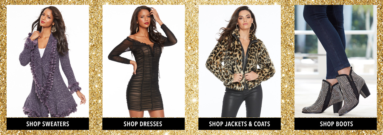 Shop Jackets & Coats, tops, jeans and boots.