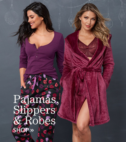 Shop Pajamas, Slippers and Robes