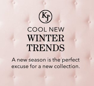 Cool New Winter Trends. A new season is the perfect excuse for a new collection.